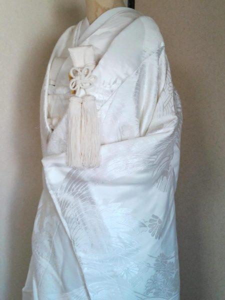 ★A-1 正絹白無垢  白無垢一式レンタル料金¥65000(税別)