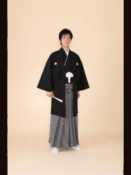★新郎紋服 B-1 紋服一式レンタル料金¥39800(税別)
