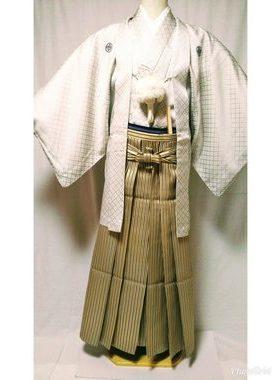 男性紋服 D-001 卒業式・フルレンタル¥25000 浅草店着付け¥6900サムネイル