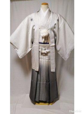 男性紋付袴 D-003 卒業式・フルレンタル¥25000 浅草店着付け¥6900サムネイル