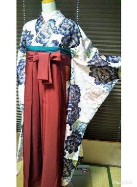 G-118 卒業式袴フルレンタル¥33000 浅草店着付け¥6900サムネイル