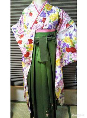 G-119 卒業式袴フルレンタル¥33000 浅草店着付け¥6900サムネイル