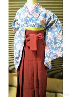 G-120 卒業式袴フルレンタル¥33000 浅草店着付け¥6900サムネイル
