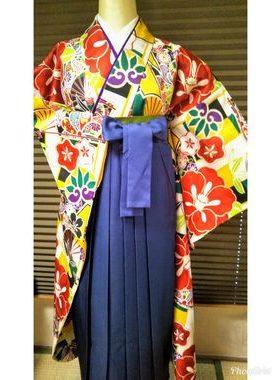 G-121 卒業式袴フルレンタル¥33000 浅草店着付け¥6900サムネイル