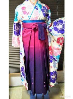 G-123 卒業式袴フルレンタル¥33000 浅草店着付け¥6900サムネイル