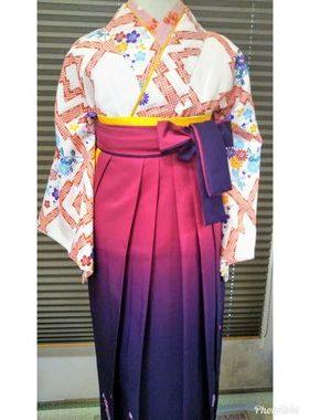 G-124 卒業式袴フルレンタル¥33000 浅草店着付け¥6900サムネイル