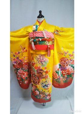 七五三 S-701七歳レンタル一式¥22000 浅草店での着付け無料❢サムネイル