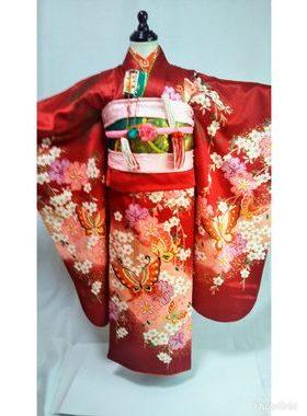 七五三 S-702七歳レンタル一式¥22000 浅草店での着付け無料❢サムネイル