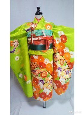 七五三 S-703七歳レンタル一式¥22000 浅草店での着付け無料❢サムネイル