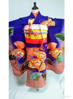 七五三 S-704七歳レンタル一式¥22000 浅草店での着付け無料❢サムネイル