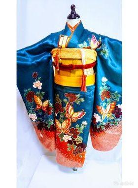 七五三 S-706七歳レンタル一式¥22000 浅草店での着付け無料❢サムネイル