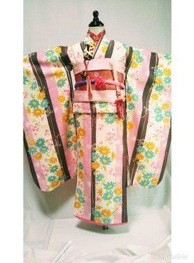 七五三 S-709七歳レンタル一式¥22000 浅草店での着付け無料❢サムネイル