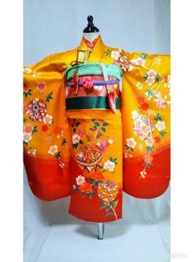 七五三 S-710七歳レンタル一式¥22000 浅草店での着付け無料❢サムネイル
