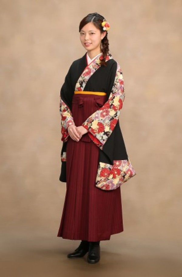 卒業袴着付けヘアセットはさくらベール浅草店へサムネイル