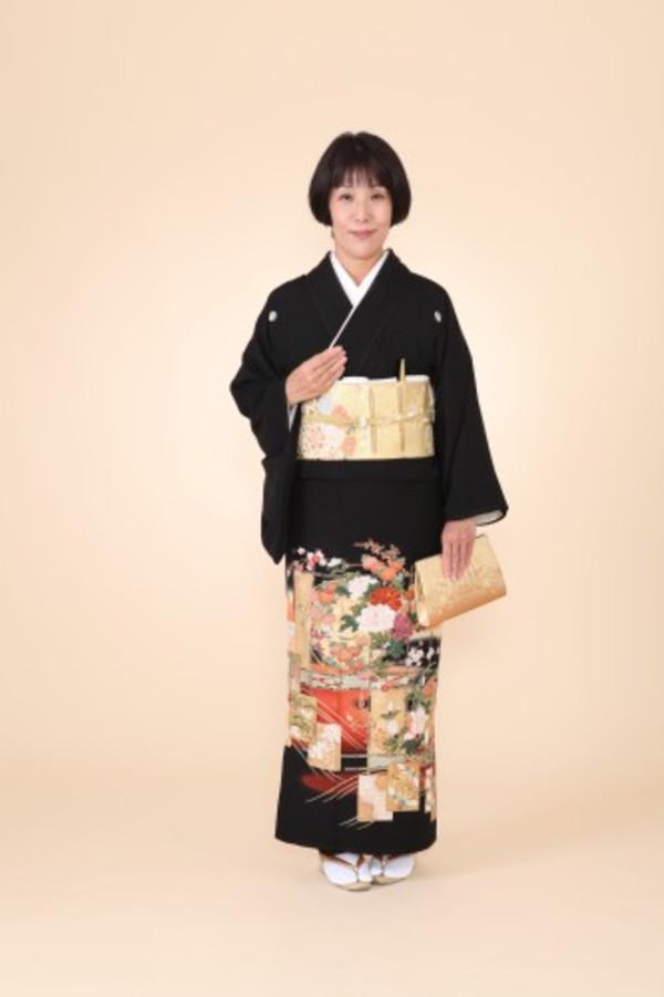 留袖レンタル+着付け♪着物着付け・和装美容さくらベール浅草店サムネイル