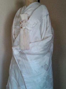 ★A-1 正絹白無垢  白無垢一式レンタル料金¥71000~サムネイル