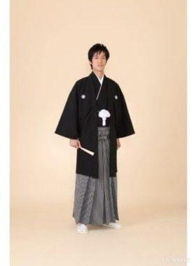 ★新郎紋服 B-1 紋服一式レンタル料金¥44000サムネイル